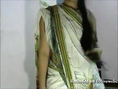 Fat indian girl undressing breasts