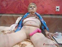 OmaGeiL Amateur Granny diapositivas Fotos Colección