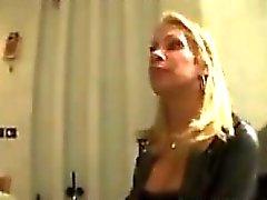Loira Travesti de bichano Porra