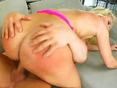 Gonzo cum droppande creampie med Christin La Rouge by