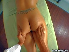 Perfekte reich Eva Angelina loves Massage so viel