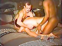An ebony boy does a pussy lick
