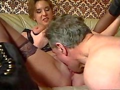 Milf & matures group sex