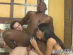 Bisexuels threesome xxx en