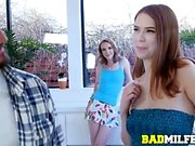 Pepper Hart, Katy Kiss In Family Seductive Pussies