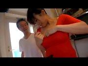 Ichiki Ayaka - Breast Milk Frau nach Tokio Teil2 von TOM
