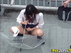 Asians piss in play park