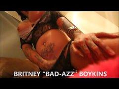Татуированные Трансвеститы Britney Бойкинс Сексуальное Стриптиз Видео (NEW 2015)