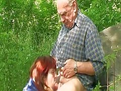Old Couple Gets Nasty Fucking In...