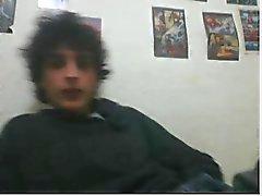 diversos rapazes heterossexuais pé na webcam