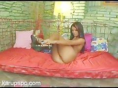 Ashley Bulgari Masturbates