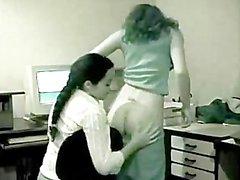 Bürosunda Hint lesbians