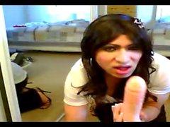 Penis ve boşalmak yutmak - Veronica Mendez ve