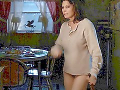 Du Gina Gershon chatte poilue