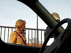 Mature - Car - Flash