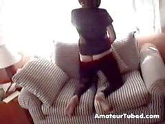 Hidden cam wife
