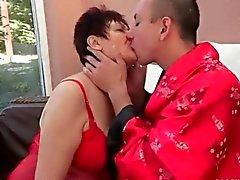 Heiße total Omas Geschlechts Zusammenstellung