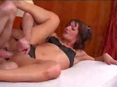 French Mom Hardcore Fucking in the Ass - NakedCamWomenDotcom