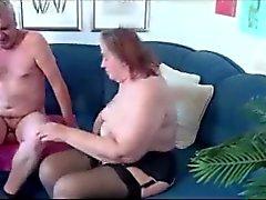 Alten Dicke Frauen Spiele mit Alter Mann