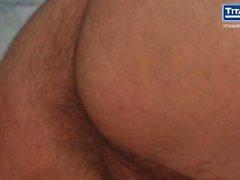 Komean Latinalainen kieli Stud Rides Hiusten väri Blondi Silmien Jock iso Dickin