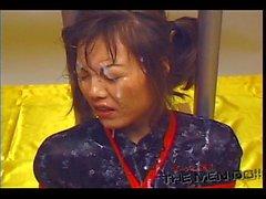 Erzwungene bukkake milchig der 16 4/4 japanische Uncensored Bukkake