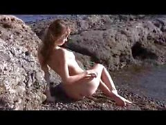 Nude Beach - So Cute - Skinny Rehead Photo Shoot