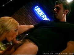 Shyla Stylez doing great blowjob