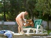 Sabrine Maui Asian Chick Poolside Outdoor Fucking