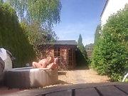 Cinta de sexo casera amateur real en la piscina con adolescente