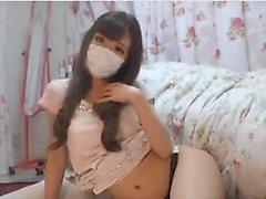 Softcore asiática burlan de panty