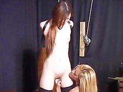 Lesbians Bound And Fucked - Scene 1