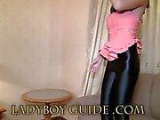 Senseless Delicate amor de de Ladyboy Em Thai Hotel