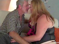 Big Blonde Cock Loving BBW Babe Smashing Hard Cock