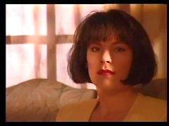 Klassischer der 90er Jahre Pornoszenen mit Rice Tal Außenseite Blasen und Ficken
