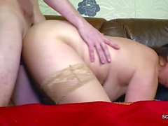 German Young Man Seduce Step-Mom to get Fuck