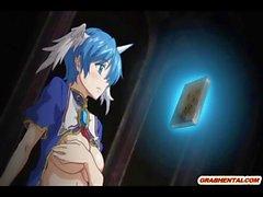 Japanese anime Studentin Bohrer allhole von Tentakeln