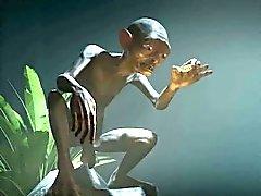 Hyvännäköinen 3D babe saa munaa metsässä Klonkku