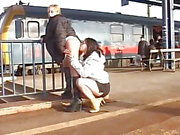 Lesbians Pissing In Public