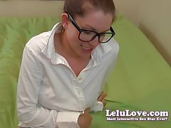 Lelu Love- Nerdy Girl Cum On Glasses