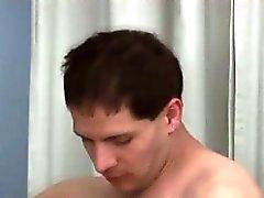 Horny gay stud fucked by big cock