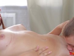 18 Videoz - Диана Дали - Teeny и ее bf любят горячий секс