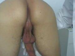 Nude Mann Homosexuell in Arztpraxis Video Er war