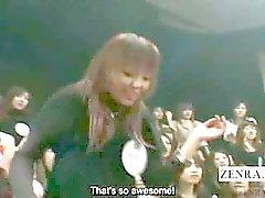 Sottotitoli pantagruelica CFNM Japanese Pompini di round robin