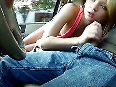 Hautenge jugend verdammte Fremde im Auto er speichert