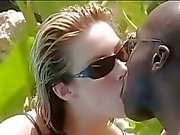 Jessica May loves the feel of a huge black cock deep in her mooist pink pussy