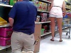 Von Trina blinkt Walmart Mitarbeiters