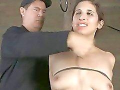 A tortura facial Lusty de para a beleza