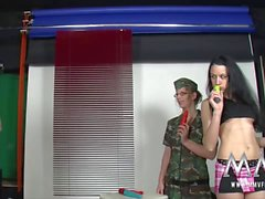 MMV FILMS Fucking the German Army babe