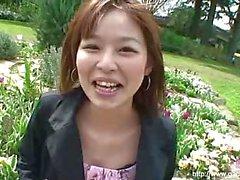 Asian Bush Creampied