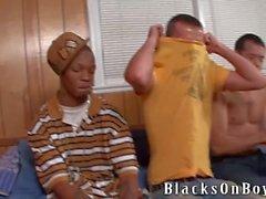 Josh Dean A Friend İle Yaptığı İlk Siyah Dick Hisse